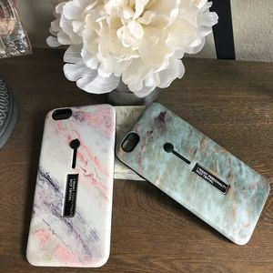 Accessories - (2) iPhone 6 PLUS cases, with phone stand and grip